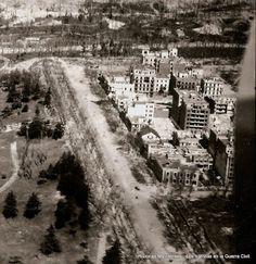 Calle Rosales al finalizar la guerra