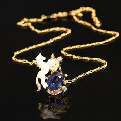 Unicorn Gem Necklace  #totallynuckingfuts