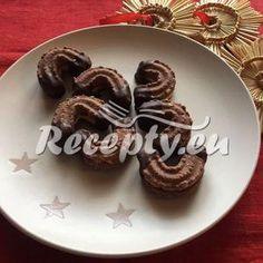 Vaření top receptu Kakaové rohlíčky