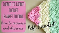 (40) Tricolour square tutorial left handed - YouTube