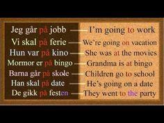 Norwegian Prepositions Explained: ( i ) eller (på) Part 1 - YouTube