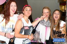 Diese vier Girls sorgten für gute Laune und posierten frech für unsere Kamera