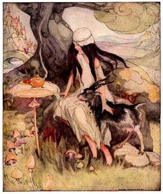 Anne Anderson's Fairy Tales and Pictures, Little One Eye,...