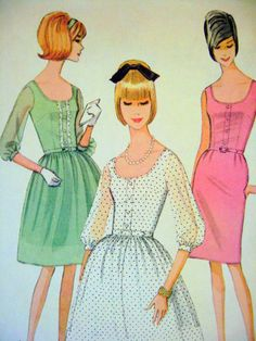 60's sewing pattern