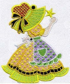 Free Embroidery Design: Child - I Sew Free