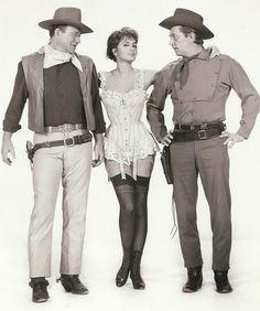 John Wayne - Robert Mitchum - Charlene Holt - El Dorado (1966)