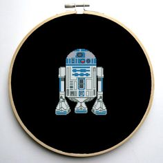 Star Wars Cross Stitch PDF pattern R2D2 | Craftsy