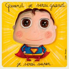 quand je serai grand - Recherche Google Superhero Classroom, French Classroom, Collaborative Art, When I Grow Up, 4 Kids, Cute Illustration, Animals For Kids, Kids Decor, Illustrations Posters