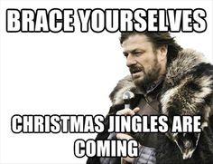 Brace yourself ...