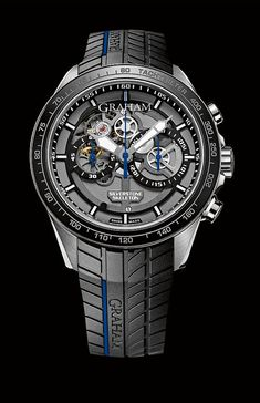 #Graham Silverstone RS Skeleton. Each version is limited to 250 pieces, and sells for $14,580.