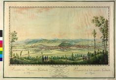 Laibach 1821 Slovenia, Vintage World Maps, Author, Watercolor