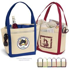 Promotional Saratoga NonWoven Tote Bag #39ST1812 | Customized Tote Bags | Custom Logo Saratoga NonWoven Tote Bag