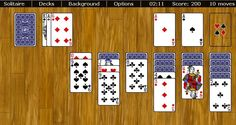 Over 50 beautiful free web based Solitaire games. Klondike, Spider, FreeCell and more. No installs, no flash, no plugins needed.