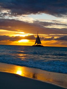 An evening in Aruba...the most AMAZING sunsets I think I've ever seen.