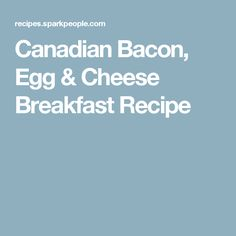 A Low Carb breakfast for the GT Xpress 101 or GT RSG with dividor pan insert. Low Carb Breakfast, Breakfast Recipes, Sandwich Maker Recipes, Canadian Bacon, Bacon Egg, Recipe Details, Sandwiches, Eggs, Keto