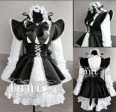lolita gothic màu đen - Tìm với Google