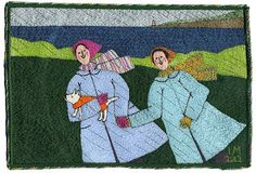 Linda Miller Stormy Machine Embroidery