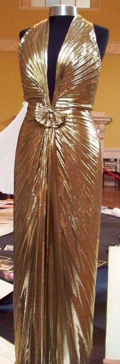 Marilyn's Iconic Gold Dress.