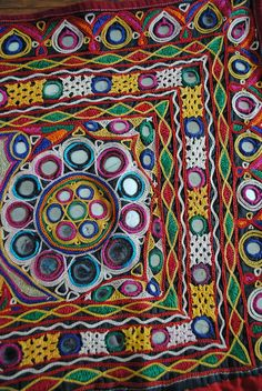 adore the vibrant colours, and the detail on the stitching is ...