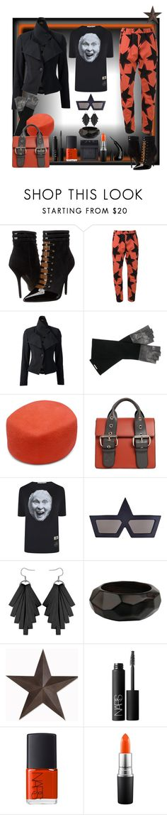 """The Queen"" by ritva-harjula ❤ liked on Polyvore featuring Vivienne Westwood, Vivienne Westwood Anglomania, Urstadt.Swan, NARS Cosmetics, MAC Cosmetics and NYX"