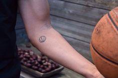 Tattoos - frauines. Basketball. (Basketball Tattoos)