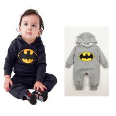 Lovely Baby Kids Boys Infant Batman Romper One-piece Outfits Clothes 3-24Months #Affiliate