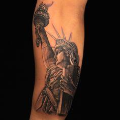Landscape Tattoo by Jason Clay Dunn Tattoo Shows, I Tattoo, Jason Clay Dunn, Ink Master Seasons, Tattoo Nightmares, Landscape Tattoo, Badass Tattoos, Skin Art, Season 3