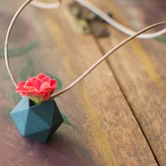 Wearable Planter Icosahedron now featured on Fab.