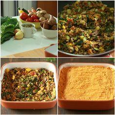 Empadão de lentilhas e batata doce 2