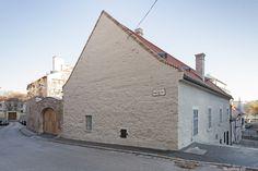 képek: Egy vízivárosi lakóház újjászületése - Kapucinus utca 9.
