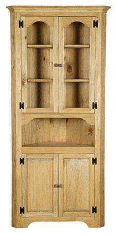 vintage reclaimed primitive french country cottage corner cabinet