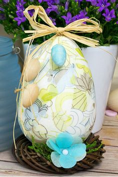 Thinking of doing some Easter crafting? Why not decorate one of our paper mache eggs to fit in with your Easter theme? They look great as a table centerpiece or would make a beautiful craft gift. Easter Crafts For Adults, Paper Mache Crafts, All Paper, Spring Crafts, Table Centerpieces, Craft Gifts, A Table, Easter Eggs, Craft Projects