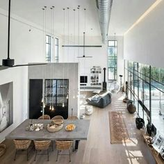 Going for these interior design loft style ideas may very well be the best living style for you, and you do not know it yet Interior Design Minimalist, Loft Interior Design, Loft Design, Deco Design, Home Interior, Interior Architecture, Interior Ideas, Apartment Interior, Apartment Ideas