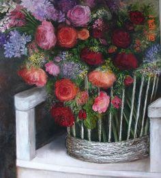 Wilma du Toit Painting Flowers, Google, Art, Art Background, Kunst, Gcse Art, Flower Drawings