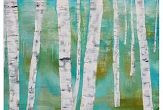BEAUTIOUS! birch trees