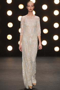 Naeem Khan   Fall 2014 Ready-to-Wear Collection   Look 40-great look for any age