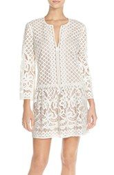 BCBGMAXAZRIA 'Laurice' Lace Drop Waist Dress
