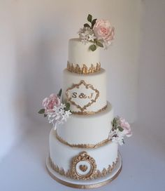 Pictures of Fabulously Floral Cakes, wedding cake designs, wedding cakes Spalding Lincolnshire