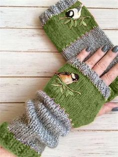 Ellafancy Autumn Winter Casual Basic Flora Knitted Gloves Gift Set – The Best Ideas Cotton Gloves, Knitted Gloves, Fingerless Gloves, Fall Knitting, Vintage Knitting, Loom Knitting, Red Accessories, Knitting Accessories, Accessories Online