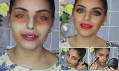 How colouring your face GREEN can achieve a flawless foundation