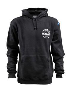 808e91c44f35 Sparco Sweat Shirt (Swtshrt Hooded S-Seal Blk Lrg)