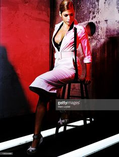 News Photo : Actress Eva Mendes is photographed for Vanity...