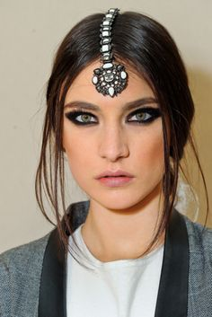Jacquelyn Jablonski just casually hanging on pinterest...Chanel Pre-Fall 2012
