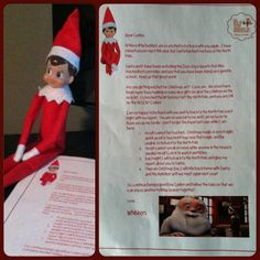 Our Elf on the Shelf has returned for yet another fantastic holiday season