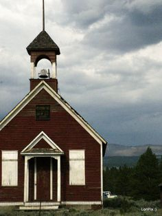 The old school house in Colorado