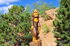 Bigfoot -- Along the road up Pikes Peak, Colorado, September 10, 2011.