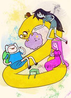 I <3 Adventure time