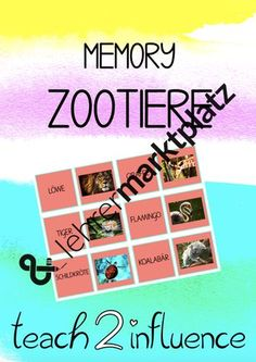 Memory® Zootiere (Grossbuchstaben) Eyeshadow, Memories, Philosophy, Physical Science, Psychology, Big Letters, Agriculture Farming, Zoo Animals, School Social Work