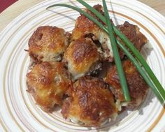 Funghi ripieni super gustosi (Stuffed mushrooms)