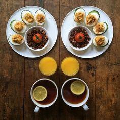 Thích mắt với những bữa ăn sáng đối xứng đầy tinh tế và quyến rũ 4